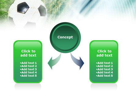 Goal PowerPoint Template, Slide 4, 01144, Sports — PoweredTemplate.com