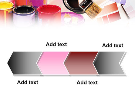 Wall Paint Colors PowerPoint Template Slide 16
