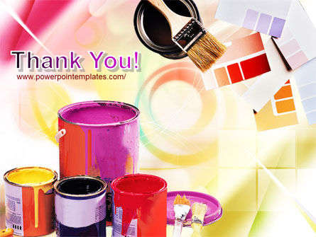 Wall Paint Colors PowerPoint Template Slide 20