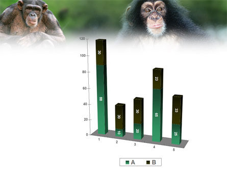 Baby Ape PowerPoint Template Slide 17