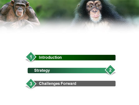 Baby Ape PowerPoint Template Slide 3