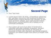 Mountain Climbing PowerPoint Template#2