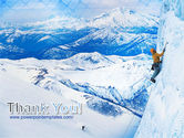 Mountain Climbing PowerPoint Template#20