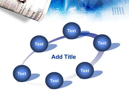 Morning Business Newspaper PowerPoint Template Slide 14