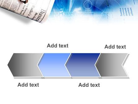 Morning Business Newspaper PowerPoint Template Slide 16