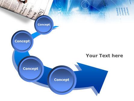 Morning Business Newspaper PowerPoint Template Slide 6