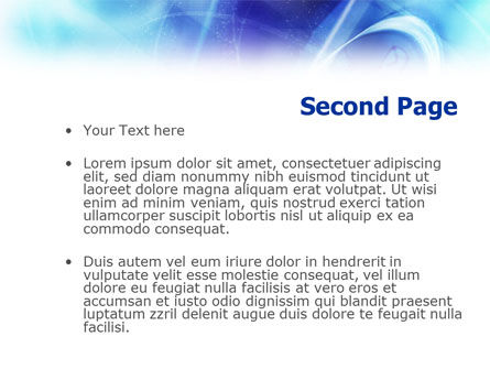 Email Connection PowerPoint Template, Slide 2, 01157, Telecommunication — PoweredTemplate.com