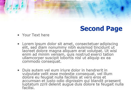 Internet Theme PowerPoint Template, Slide 2, 01159, Telecommunication — PoweredTemplate.com