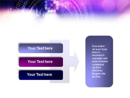 Purple Code PowerPoint Template Slide 11