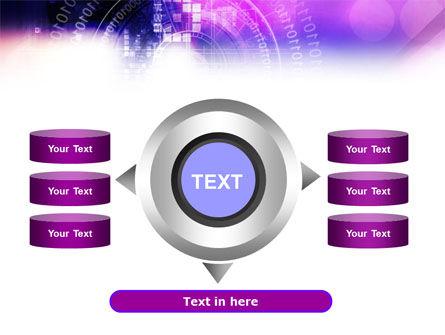 Purple Code PowerPoint Template Slide 12