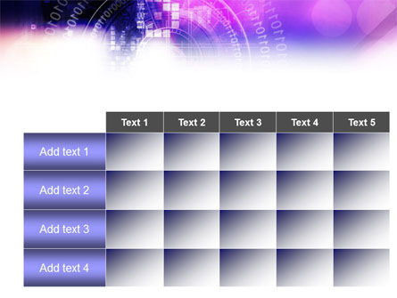 Purple Code PowerPoint Template Slide 15