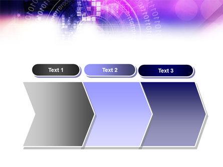 Purple Code PowerPoint Template Slide 16