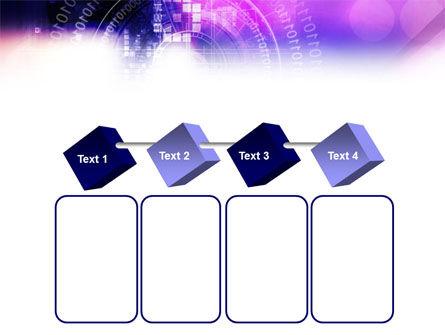 Purple Code PowerPoint Template Slide 18