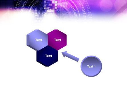 Purple Code PowerPoint Template Slide 19