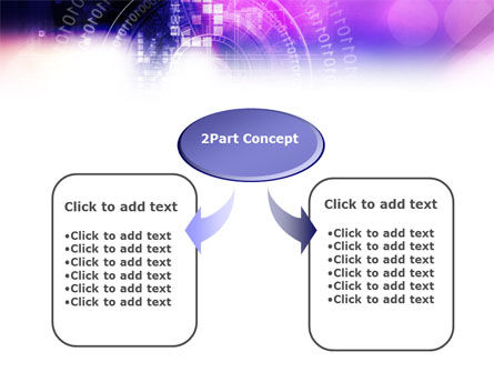 Purple Code PowerPoint Template Slide 4
