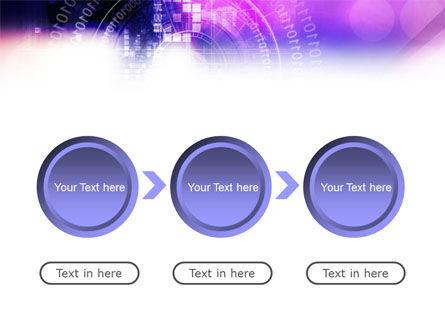 Purple Code PowerPoint Template Slide 5