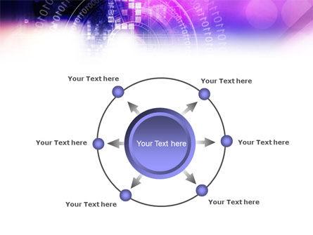 Purple Code PowerPoint Template Slide 7