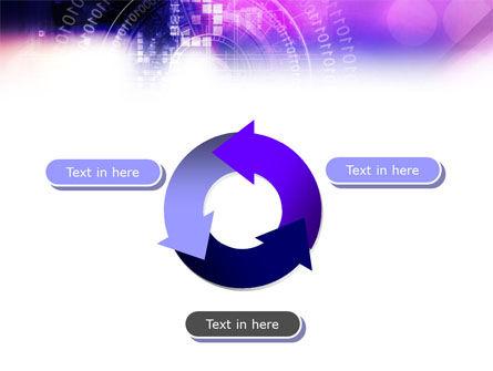 Purple Code PowerPoint Template Slide 9