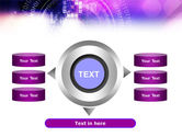 Purple Code PowerPoint Template#12