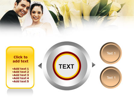 Married Couple Photo PowerPoint Template Slide 12