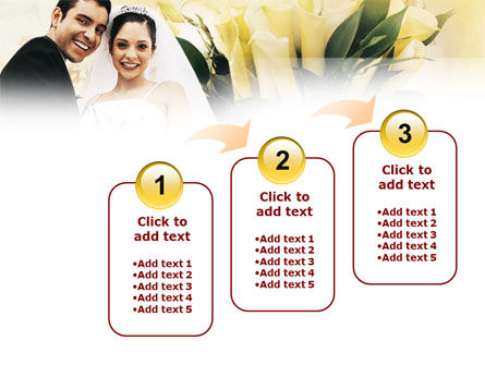 Married Couple Photo PowerPoint Template Slide 14