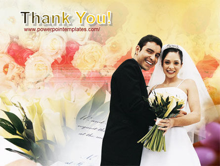 Married Couple Photo PowerPoint Template Slide 20
