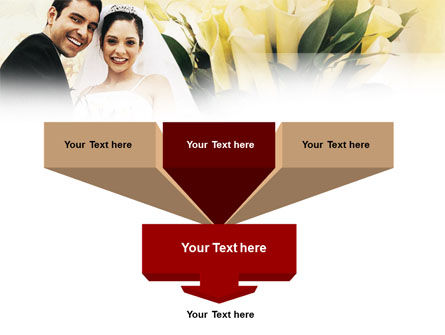 Married Couple Photo PowerPoint Template Slide 3