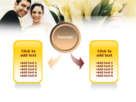 Married Couple Photo PowerPoint Template Slide 4