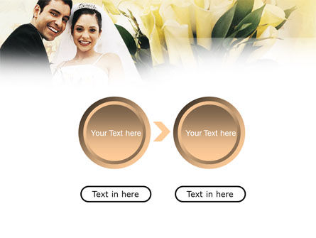 Married Couple Photo PowerPoint Template Slide 5