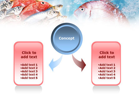 Fish Products PowerPoint Template, Slide 4, 01164, Food & Beverage — PoweredTemplate.com