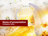 Technology and Science: Petri Dish Test PowerPoint Template #01167