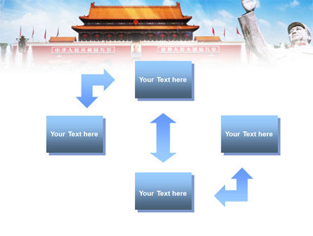 Mao's China PowerPoint Template Slide 4