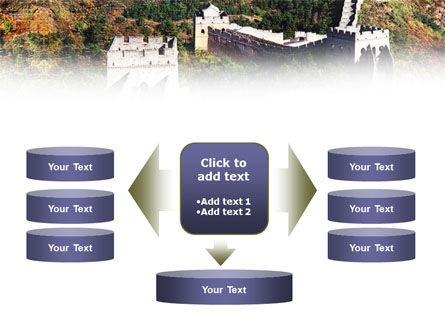 Great Wall Of China PowerPoint Template Slide 13