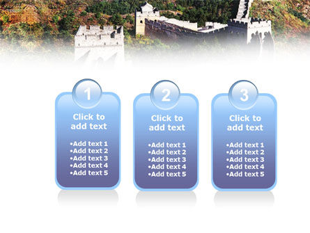 Great Wall Of China PowerPoint Template Slide 16