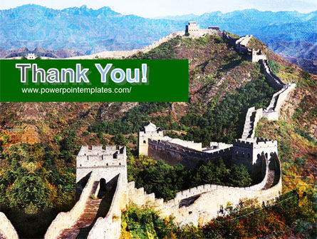Great Wall Of China PowerPoint Template Slide 20