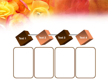 Rose Bouquet PowerPoint Template Slide 18