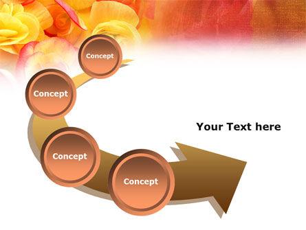 Rose Bouquet PowerPoint Template Slide 6