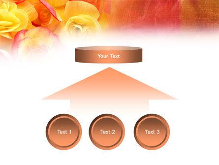 Rose Bouquet PowerPoint Template Slide 8