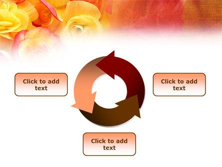 Rose Bouquet PowerPoint Template Slide 9