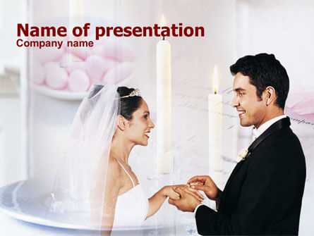 Espousal PowerPoint Template, 01172, Holiday/Special Occasion — PoweredTemplate.com