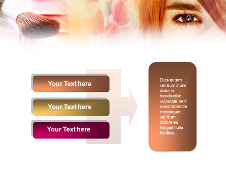 Makeup Cleanser PowerPoint Template Slide 11