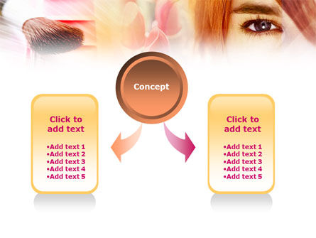 Makeup Cleanser PowerPoint Template, Slide 4, 01173, Careers/Industry — PoweredTemplate.com