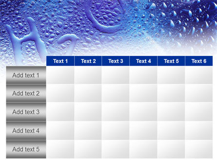 Water Formula PowerPoint Template Slide 15