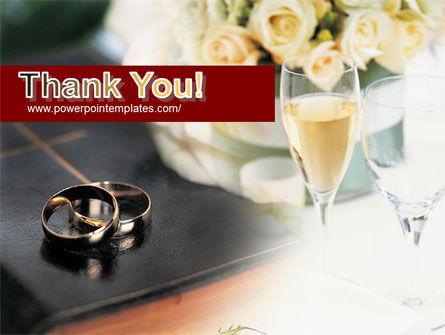 Marriage Rings PowerPoint Template Slide 20