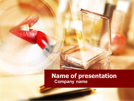 Pomade PowerPoint Template, 01179, Business — PoweredTemplate.com
