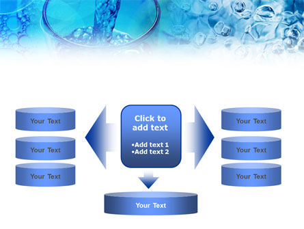 Pouring Water PowerPoint Template Slide 13