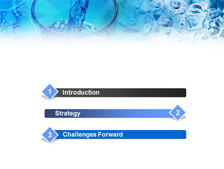 Pouring Water PowerPoint Template Slide 3
