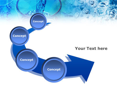 Pouring Water PowerPoint Template Slide 6