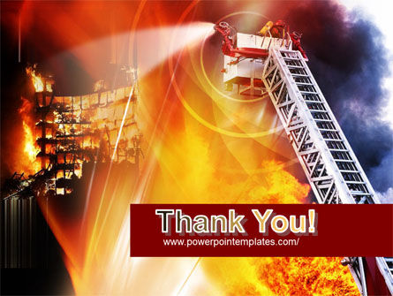 Fire Fighting PowerPoint Template Slide 20