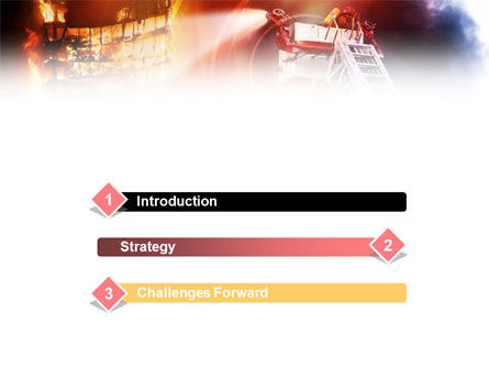 Fire Fighting PowerPoint Template Slide 3